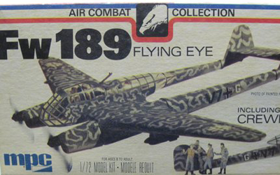 Kit # RPK-18. MPC. Kit No. 2-2112. FW-189 Flying Eye