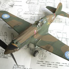 SK-4. CURTISS P-40B/C Warhawk Peanut Short Kit