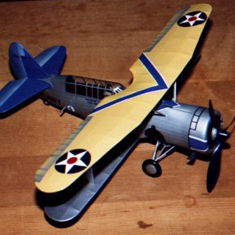 KIT # 7. CURTISS SBC-4 BI-PLANE HELLDIVER