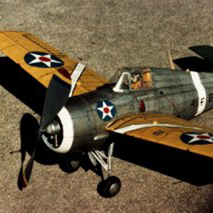 KIT # 11. GRUMMAN F4F WILDCAT
