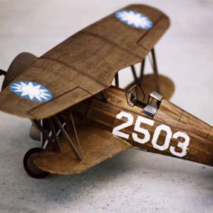 SK-26. CURTISS BF2C-1 (HAWK III)