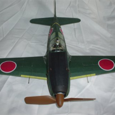 SK-41-LC THE MITSUBISHI J2M3 RAIDEN (THUNDERBOLT), OR JACK, WW2 JAPANESE LAND BASED NAVY FIGHTER