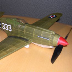 KIT # 42-LC CURTISS P-40B/C WARHAWK