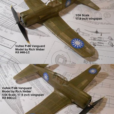KIT # 46-LC VULTEE P-66 VANGUARD