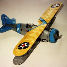 KIT # 28-LC. GRUMMAN F3F/GULFHAWK. BUILD EITHER VERSION