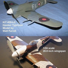KIT # 29-LC. HAWKER TYPHOON IB