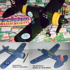 KIT # 30-LC. BREWSTER F2A BUFFALO
